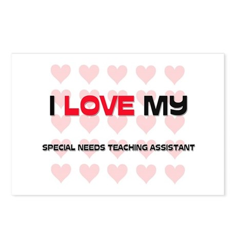 I Love My Special Needs Teaching Assistant Postcar
