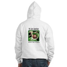 Lucky Leprechaun Charm Hooded Sweatshirt