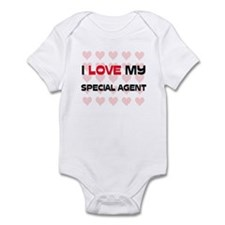 I Love My Special Agent Infant Bodysuit