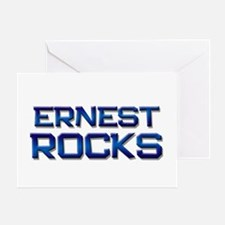 ernest rocks Greeting Card