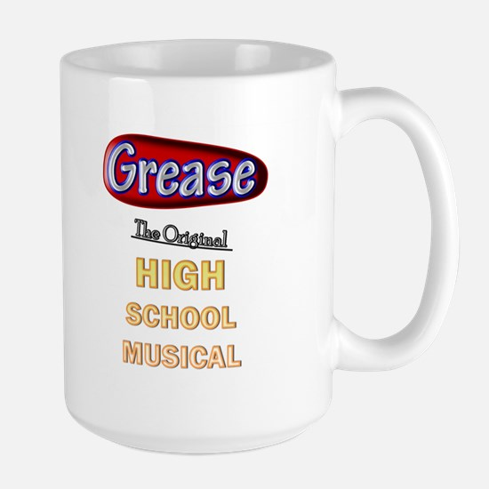 Grease VS. High School Musical Large Mug