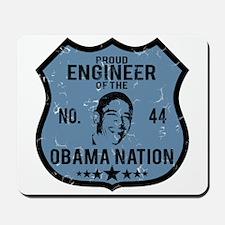 Engineer Obama Nation Mousepad