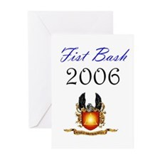 Fist Bash Greeting Cards (Pk of 10)