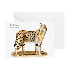 Serval Greeting Card