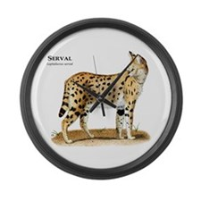 Serval Large Wall Clock