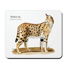 Serval Mousepad