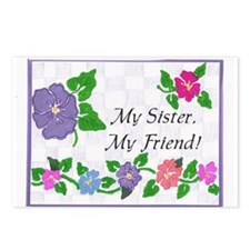 My Sister, My Friend Postcards (Package of 8)