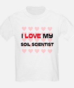 I Love My Soil Scientist T-Shirt