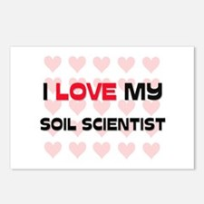 I Love My Soil Scientist Postcards (Package of 8)