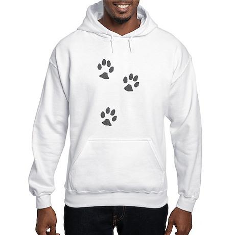 Three paws Hooded Sweatshirt