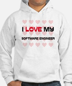 I Love My Software Engineer Hoodie