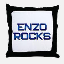 enzo rocks Throw Pillow