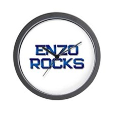 enzo rocks Wall Clock
