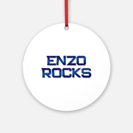 enzo rocks Ornament (Round)