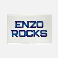 enzo rocks Rectangle Magnet