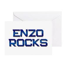 enzo rocks Greeting Card