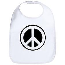 Peace Sign / Peace Symbol Bib