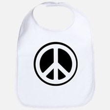 Peace Sign / Peace Symbol Bib