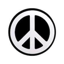 """3.5"""" Peace Sign / Peace Symbol Button"""