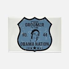 Groomer Obama Nation Rectangle Magnet