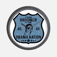 Groomer Obama Nation Wall Clock