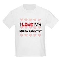 I Love My Social Scientist T-Shirt