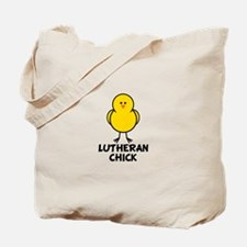 Lutheran Chick Tote Bag