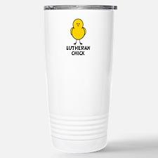 Lutheran Chick Travel Mug