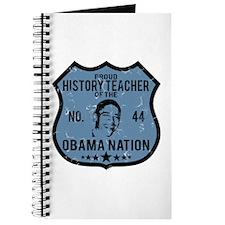 History Teacher Obama Nation Journal