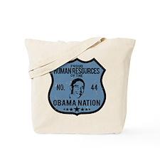 Human Resources Obama Nation Tote Bag