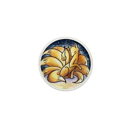 Foxfire Mini Button