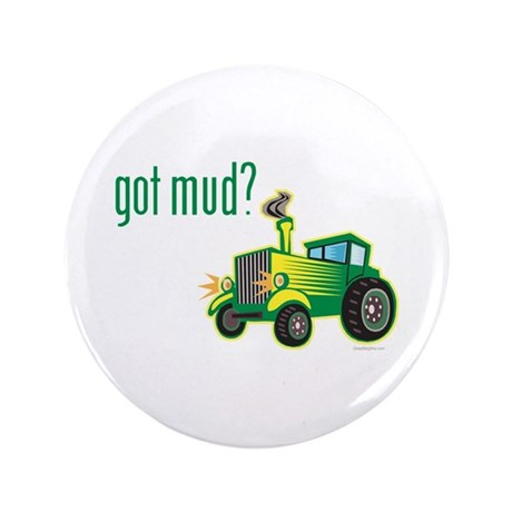 """Tractor Pull Race 3.5"""" Button (100 pack)"""