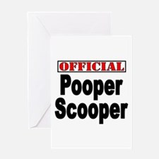 Scooper Greeting Card