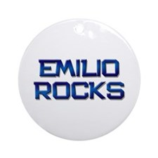 emilio rocks Ornament (Round)