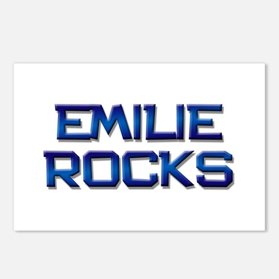 emilie rocks Postcards (Package of 8)