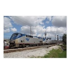 Postcards (Pkg of 8) of Amtrak's Sunset Limited