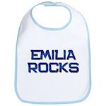 emilia rocks Bib