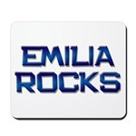 emilia rocks Mousepad