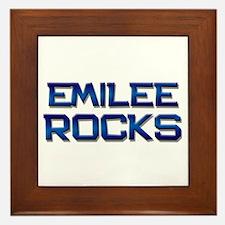emilee rocks Framed Tile