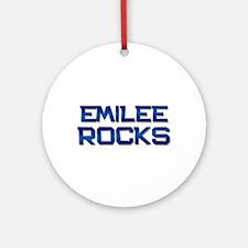 emilee rocks Ornament (Round)