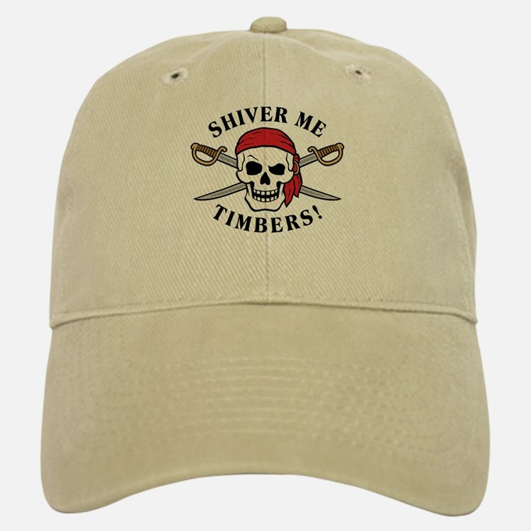 Shiver Me Timbers! Baseball Baseball Cap