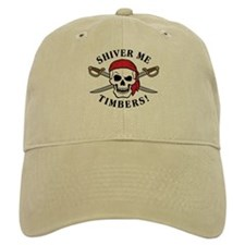Shiver Me Timbers! Baseball Cap