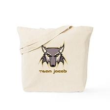 Team Jacob (wolf logo) Tote Bag