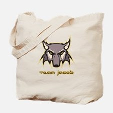 Team Jacob (wolf logo) Tote Bag