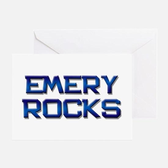 emery rocks Greeting Card