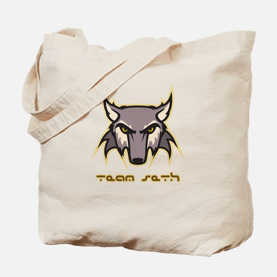 Team Seth (wolf logo) Tote Bag