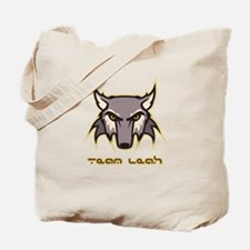 Team Leah (wolf logo) Tote Bag