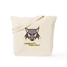 LaPush Wolves (wolf logo) Tote Bag