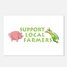 Support Local Farmers Postcards (Package of 8)