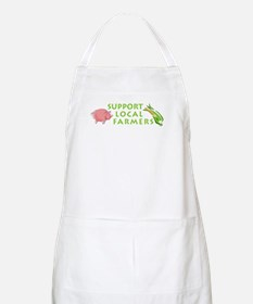 Support Local Farmers BBQ Apron